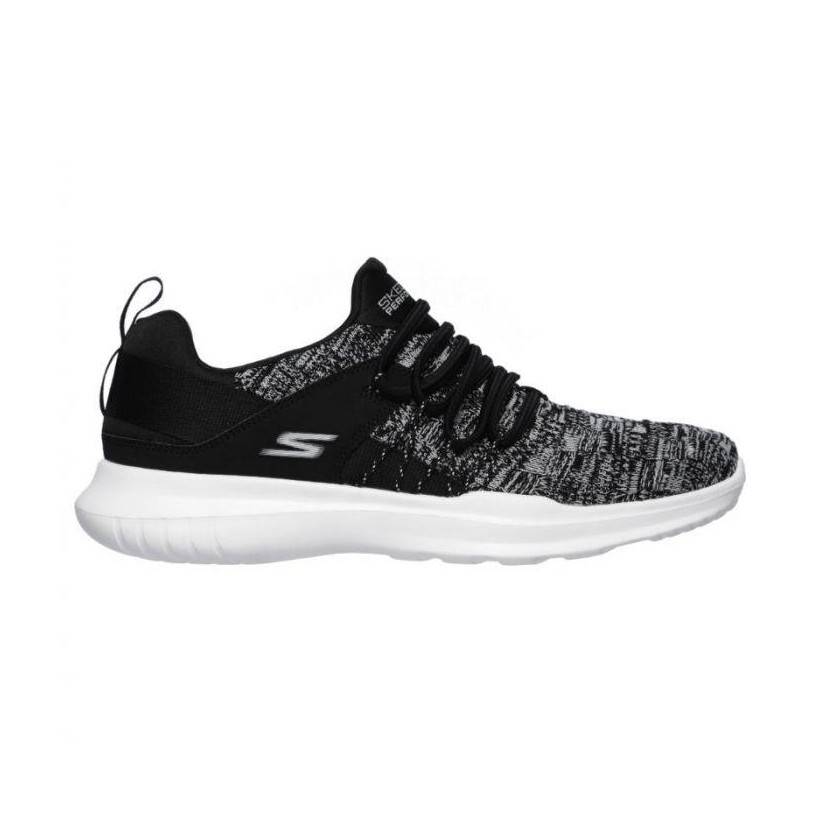 Black/White - Women's Skechers GOrun Mojo - Facilitate