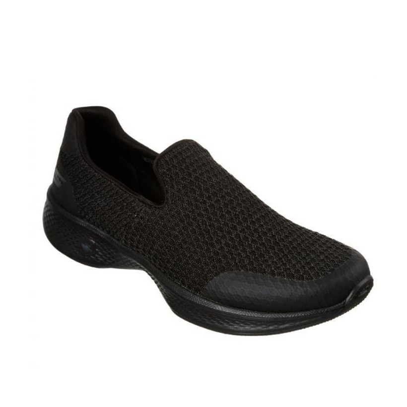Black/Black - Women's Skechers GOwalk 4 - Array