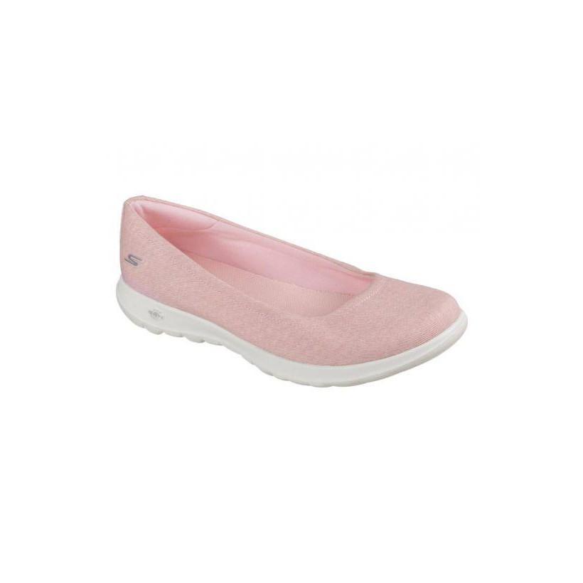 Shop Skechers Women's Skechers GOwalk Lite In Bloom Pink