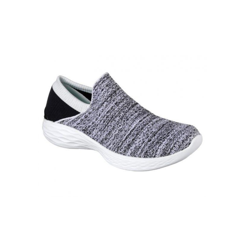 WOMENS YOU - WHITE BLACK Womens Shoes by Skechers