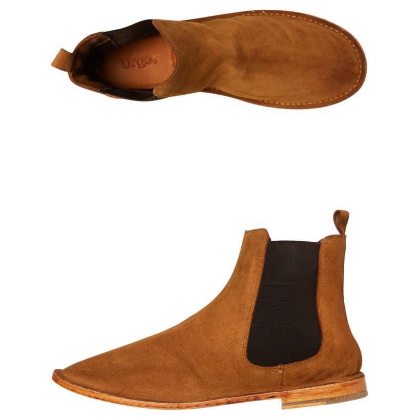 Bawley Mens Boot Tan Suede