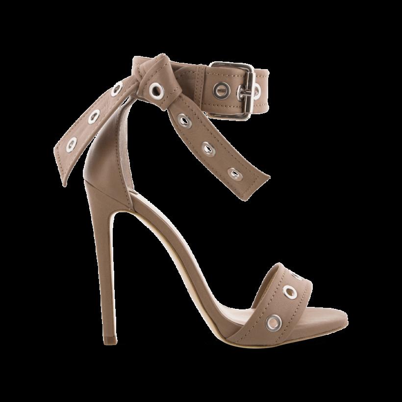 Acadia Camel Denver Heels by Tony Bianco Shoes