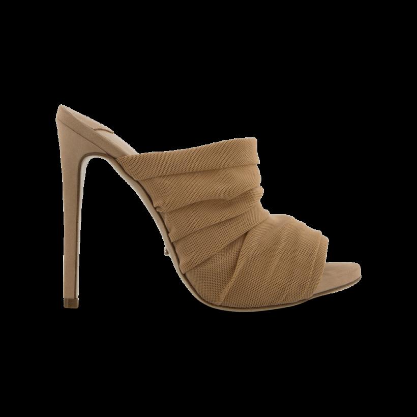 Adee Nude Mesh Heels by Tony Bianco Shoes