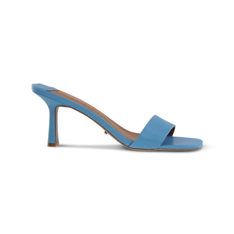 Beauty Blue Kid Heels by Tony Bianco Shoes