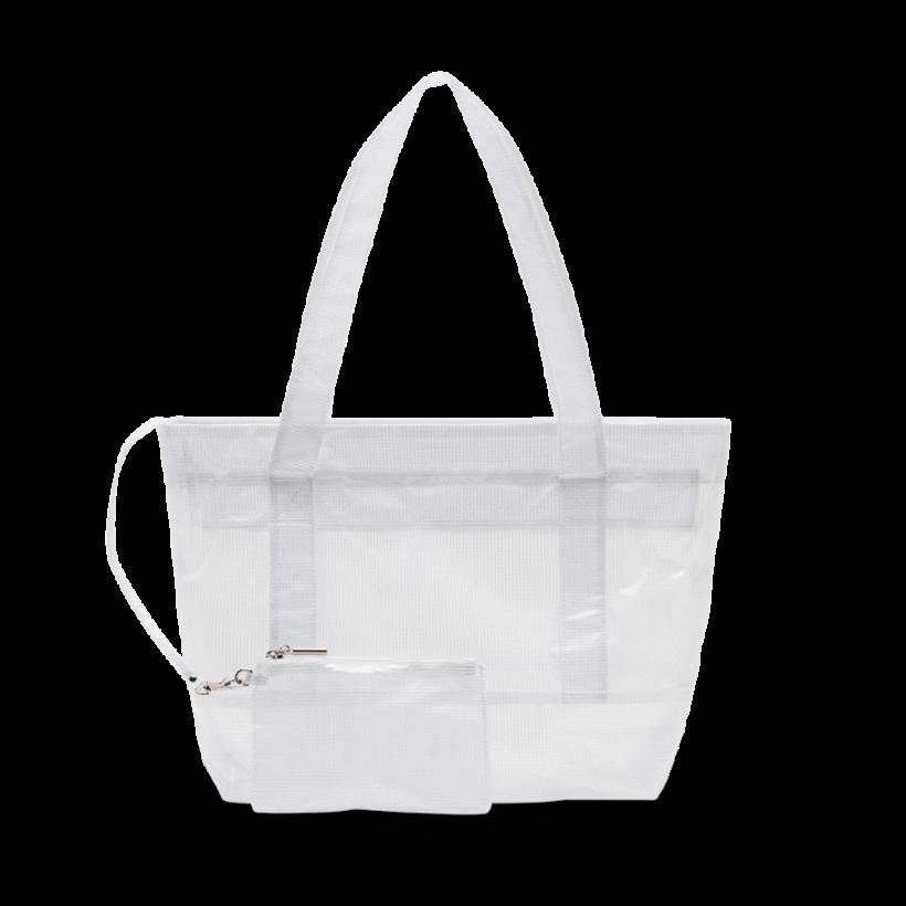TONY BIANCO - Caprese White Stitch Vinalyte Tote Bag by Tony Bianco Shoes