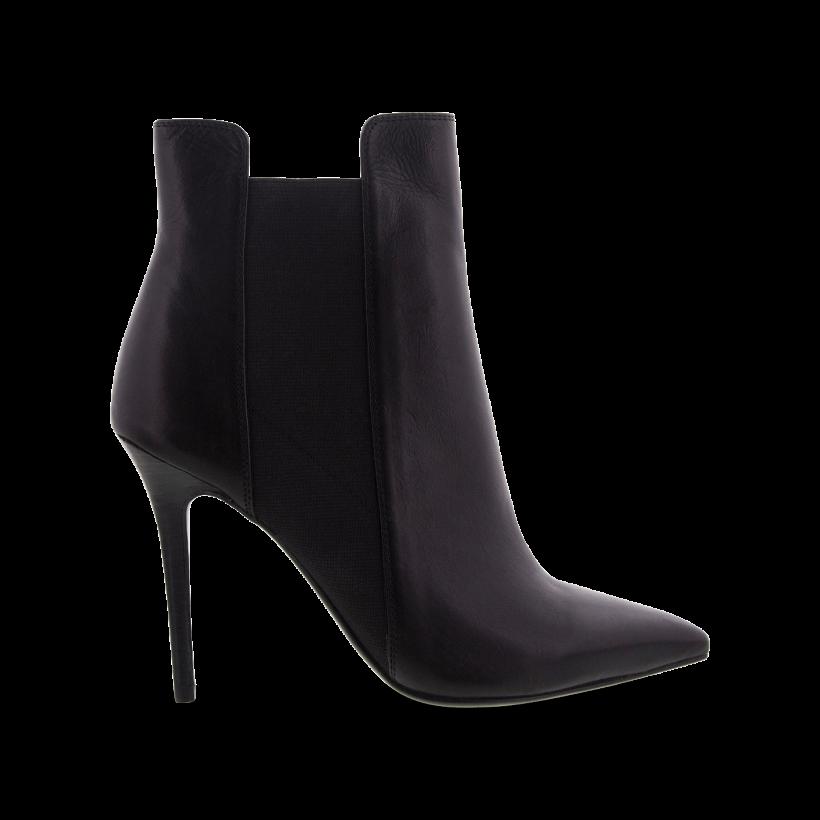 Black Como - Dara Black Como Ankle Boots by Tony Bianco Shoes