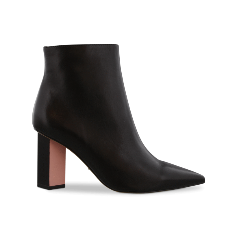 Elvis Black Como/Quartz Ankle Boots by Tony Bianco Shoes