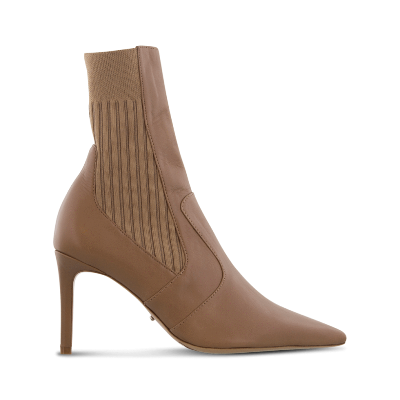 Emani Camel Denver Ankle Boots by Tony Bianco Shoes