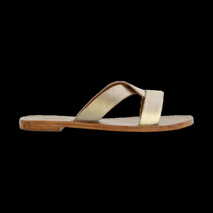 Foxy Platinum Nappa Metallic Flats by Tony Bianco Shoes
