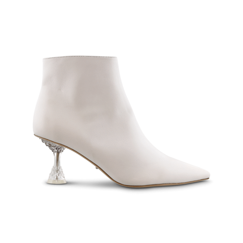 Glam Milk Capretto Ankle Boots by Tony Bianco Shoes