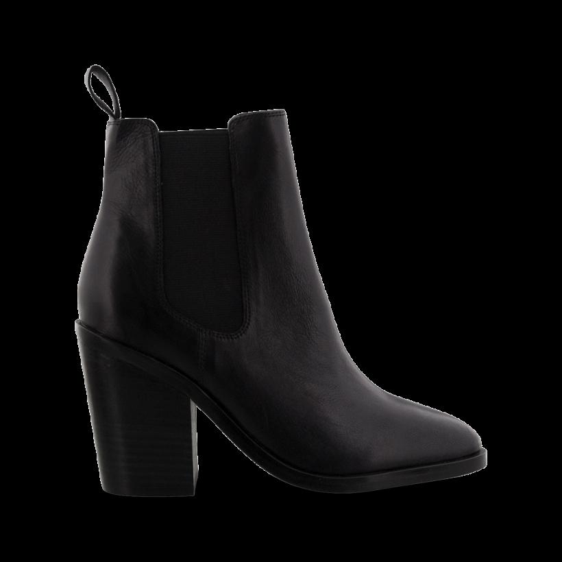 Black Albany - Glaze Black Albany Ankle Boots by Tony Bianco Shoes