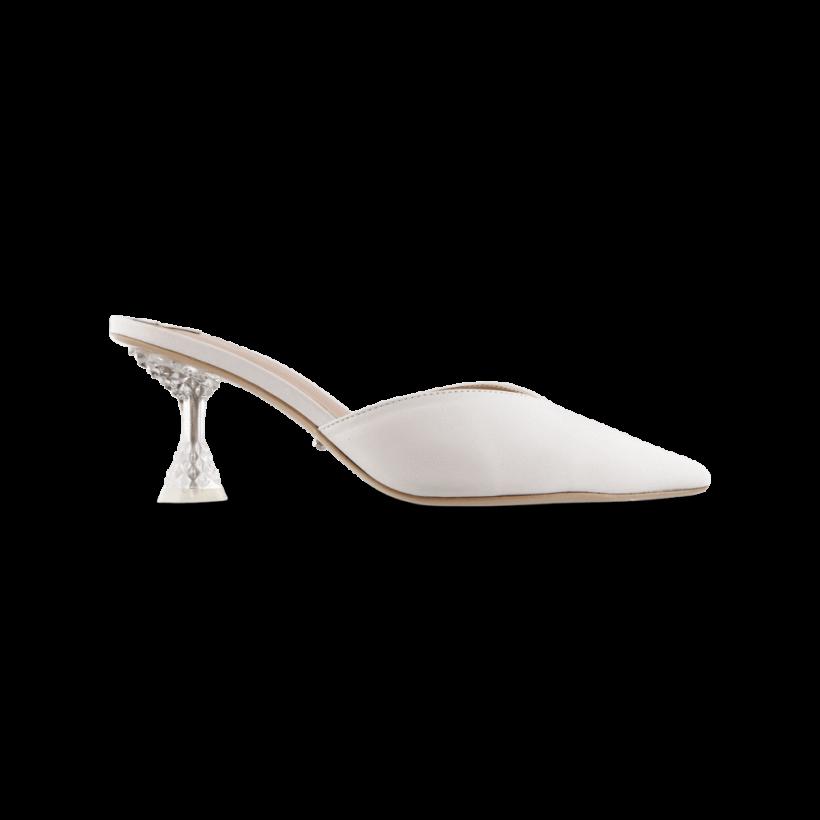 Glimmer Milk Capretto Heels by Tony Bianco Shoes