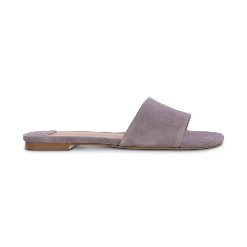 TONY BIANCO - Harvey Lilac Kid Suede Flats by Tony Bianco Shoes