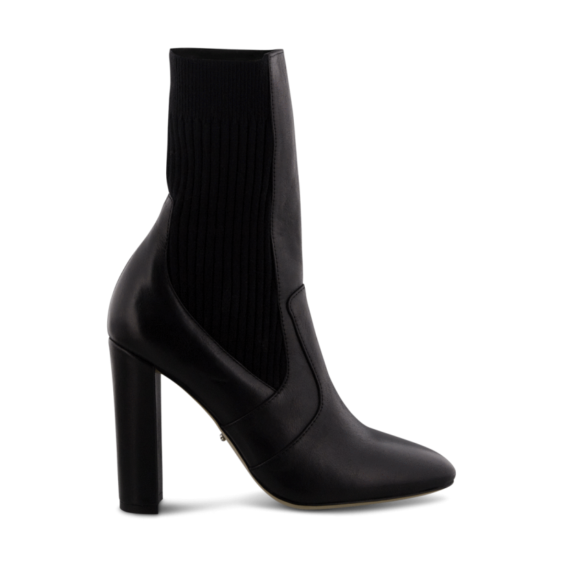 Jaxson Black Como Ankle Boots by Tony Bianco Shoes