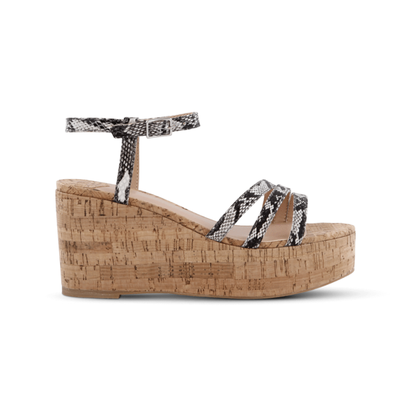 Jojo Natural Snake Wedges by Tony Bianco Shoes