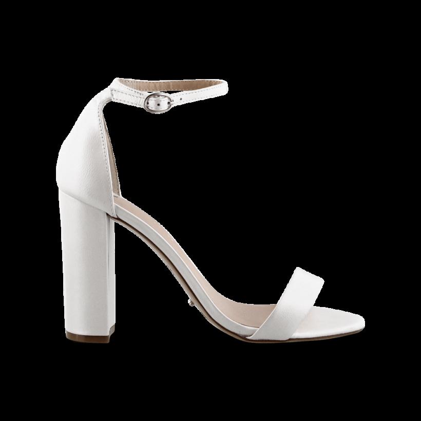 Kokomo White Pearl Heels by Tony Bianco Shoes