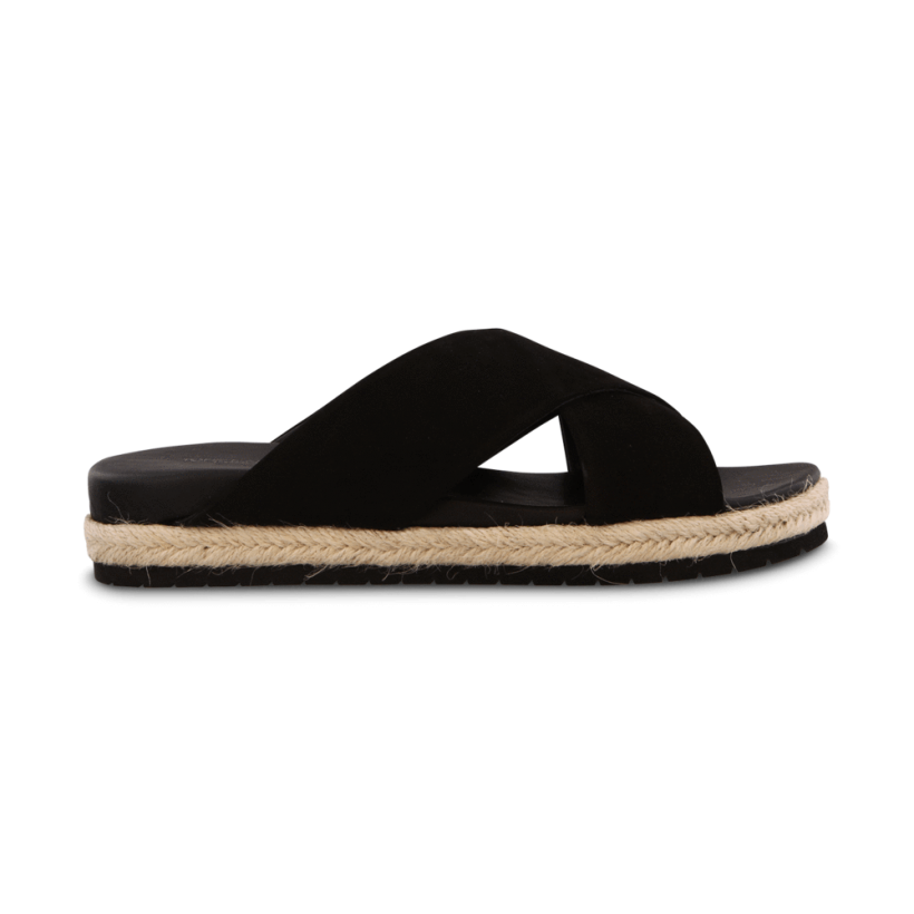 Nicola Black Phoenix Sandals by Tony Bianco Shoes