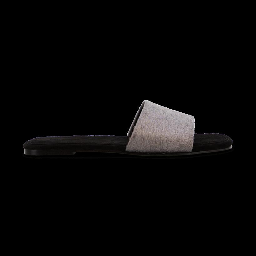 Paloma Platinum Pony Flats by Tony Bianco Shoes