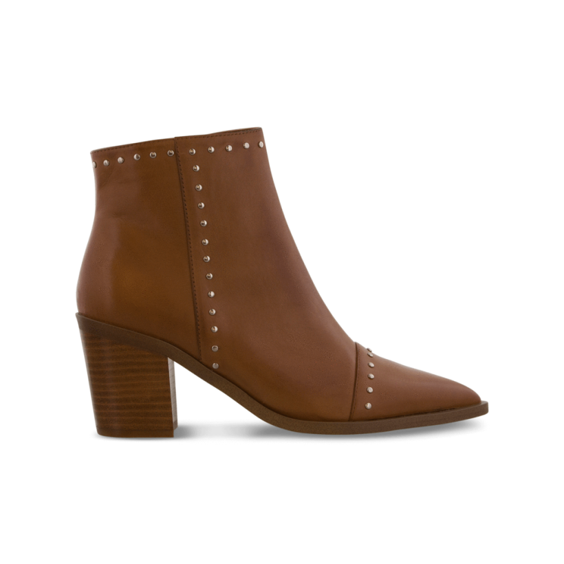 Sandre Tan Como Ankle Boots by Tony Bianco Shoes