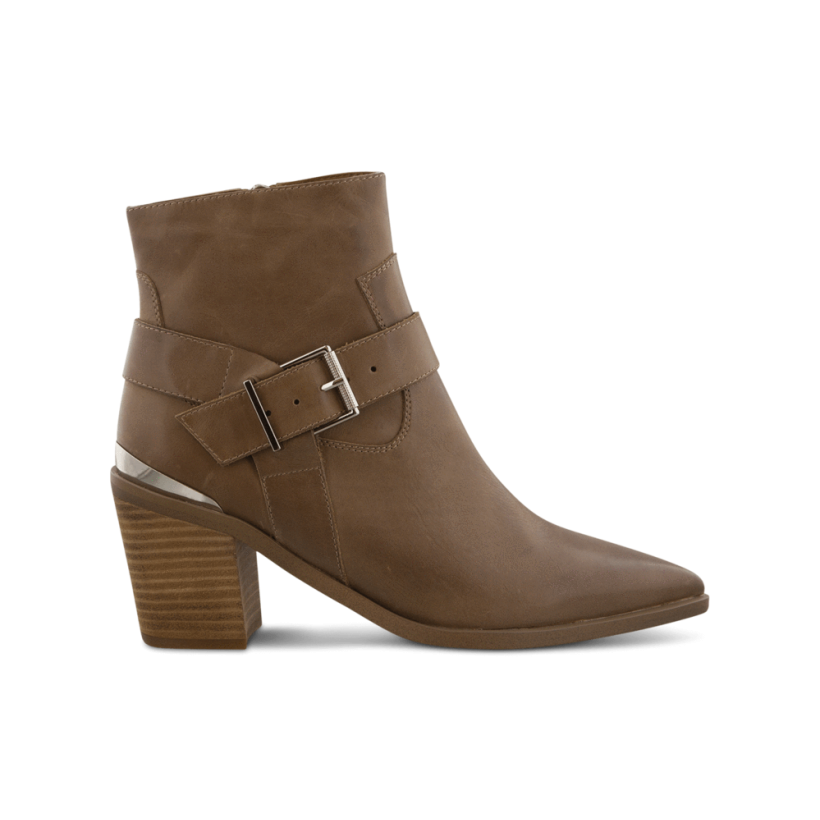Sanya Rust Diesel/Choc Wax Ankle Boots by Tony Bianco Shoes