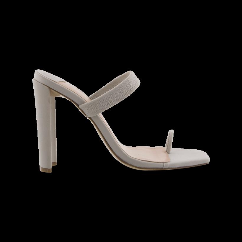 Sierra Stone Lycra Heels by Tony Bianco Shoes