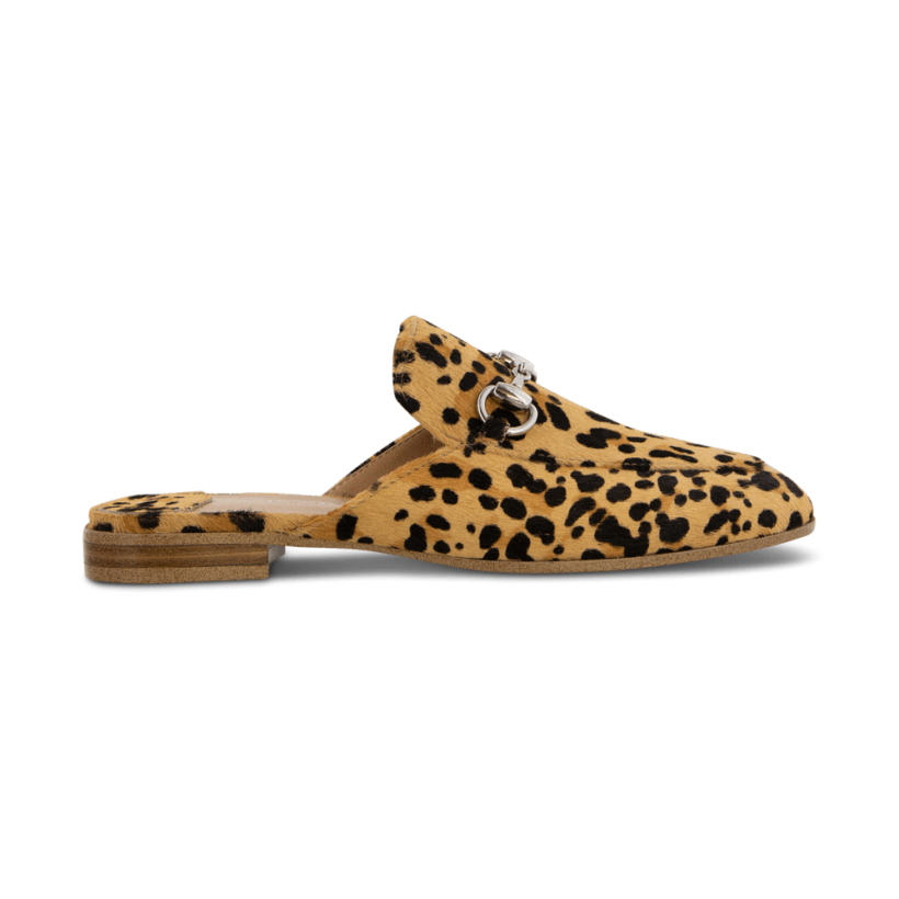 TONY BIANCO - Vienna Leopard Pony Flats by Tony Bianco Shoes