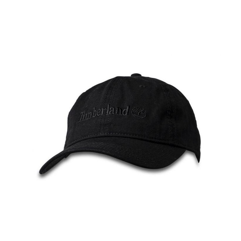 BLACK - CLASSIC LOGO BASEBALL CAP Accessories Shoes by Timberland