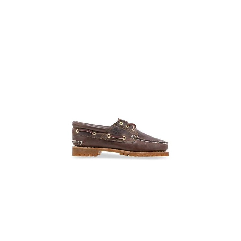 Medium Brown Full-Grain - Womens Heritage Noreen 3-Eye Shoes Footwear Shoes by Timberland