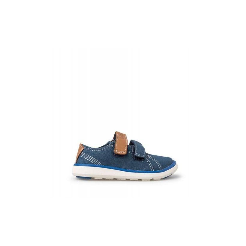 Midnight Navy Canvas - Kids Junior Gateway Pier Oxford Shoe Kids Footwear Shoes by Timberland
