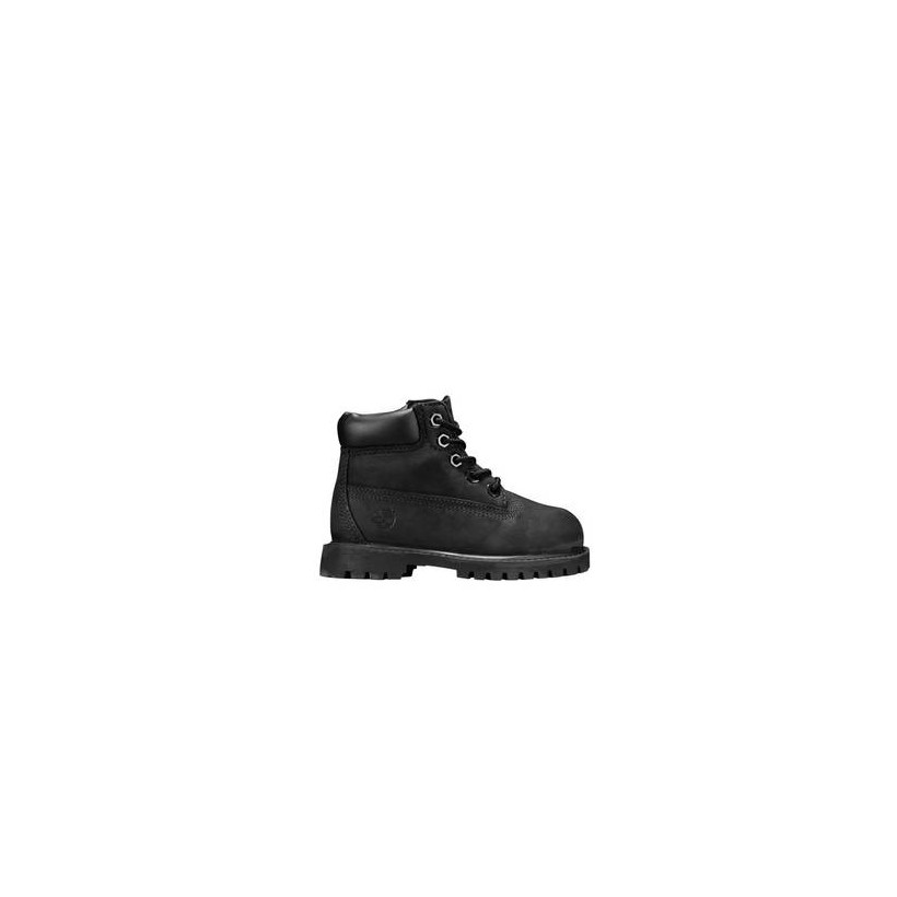 Black Nubuck - Kids Toddler 6-Inch Premium Waterproof Boots Https://Www.Timberland.Com.Au/Shop/Sale/Mens/Sneakers Shoes by Timberland