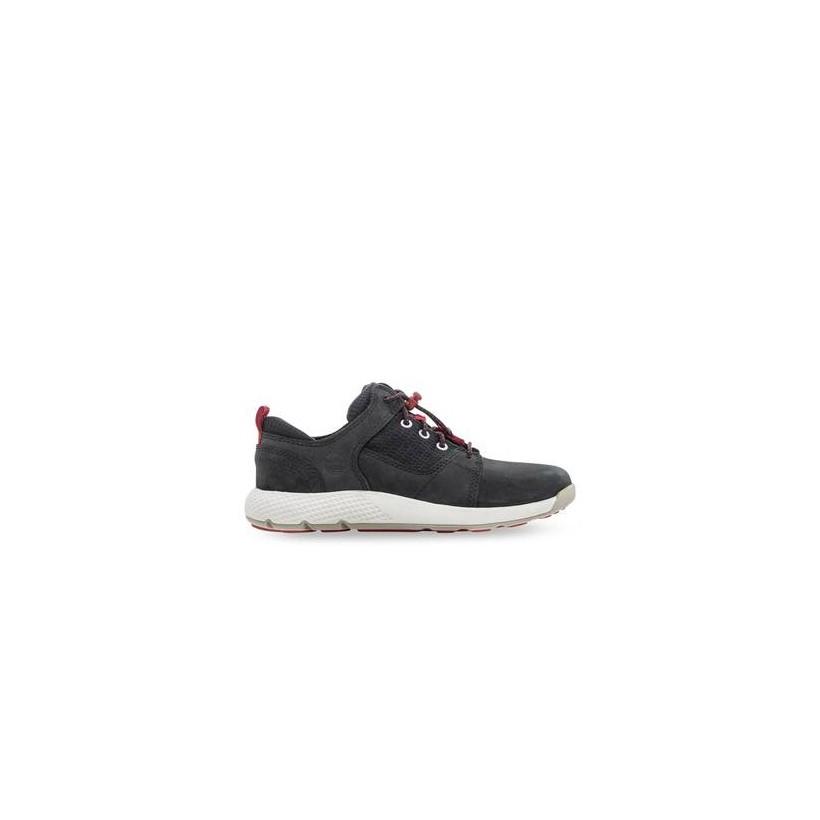 Black Nubuck - Kids Youth Flyroam Oxford Https://Www.Timberland.Com.Au/Shop/Sale/Kids/Footwear Shoes by Timberland