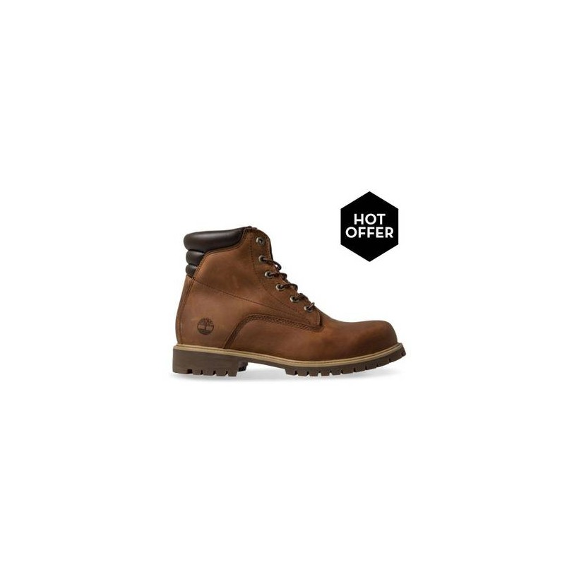 MD Brown Full Grain - Men's 6-Inch Alburn Boot Mens Shoes by Timberland