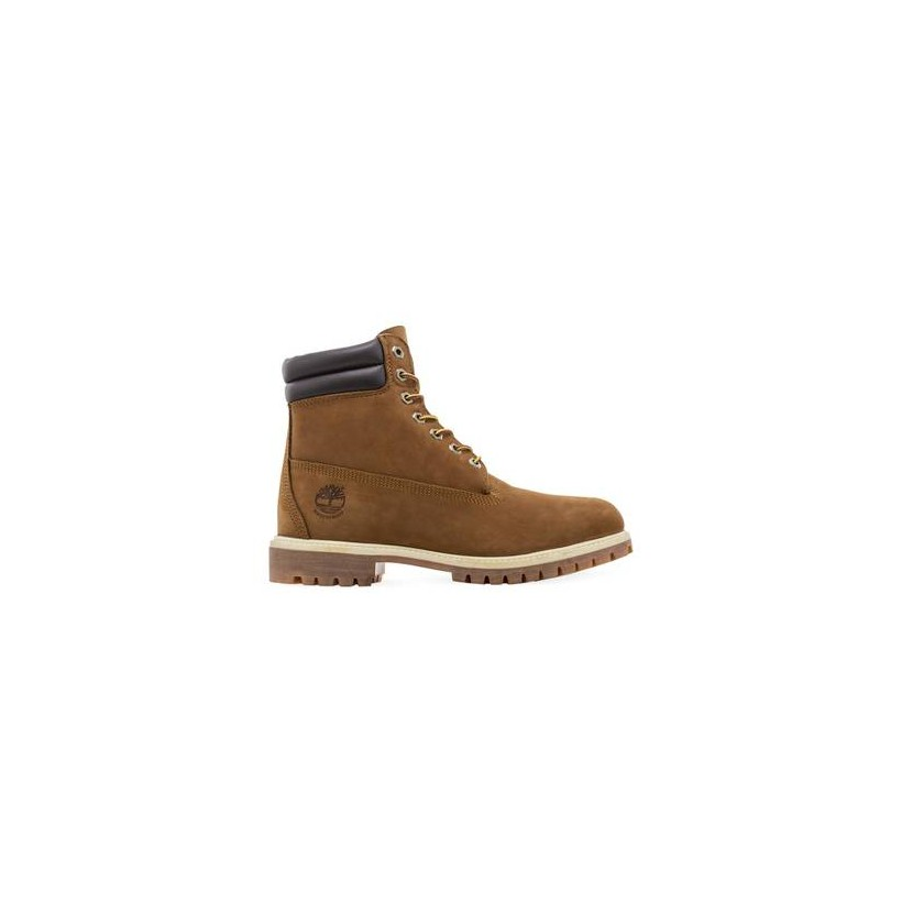 Medium Brown Nubuck - Men's 6-Inch Double Collar Boot Mens Shoes by Timberland