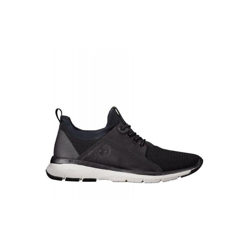 Black w/ Jet Black Escape - Men's Altimeter Mixed-Media Oxford Shoe Mens Sneakers Shoes by Timberland
