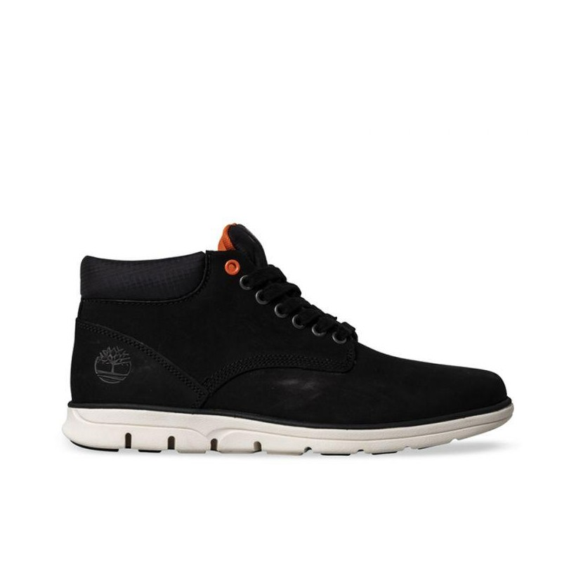 BLACK NUBUCK - MEN'S BRADSTREET LEATHER CHUKKA Footwear Shoes by Timberland