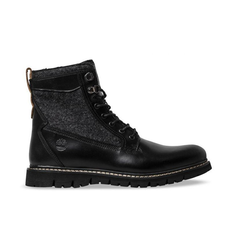BLACK FULL GRAIN - MEN'S BRITTON HILL NXTWOOL