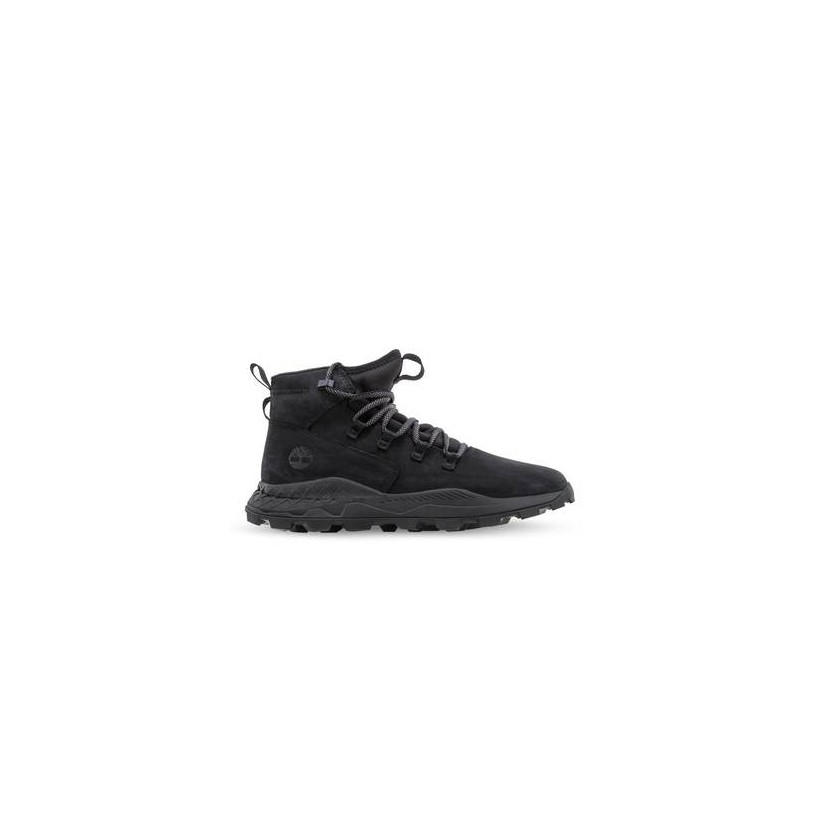 Black Nubuck - Men's Brooklyn Alpine Sneakers Footwear Shoes by Timberland