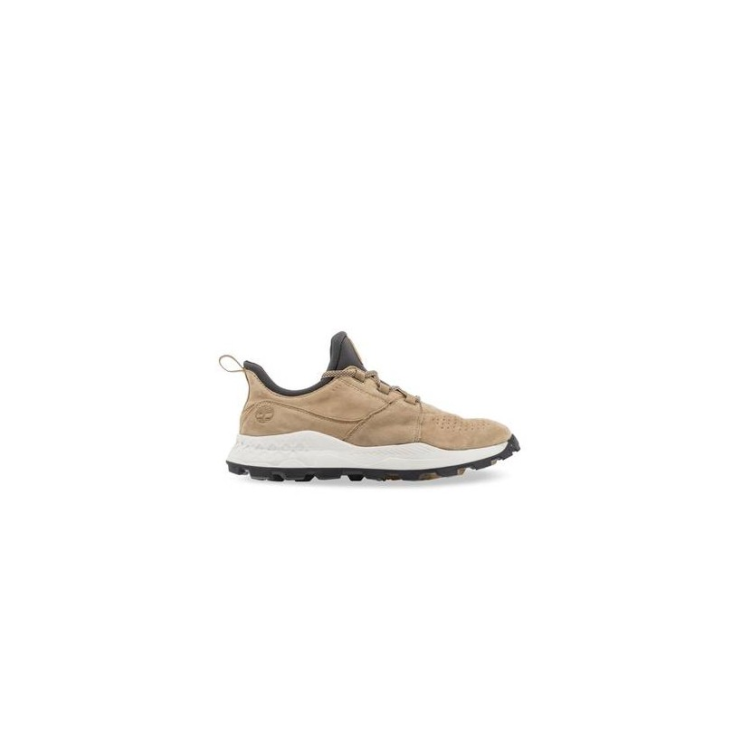 Medium Beige Suede - Men's Brooklyn Perforated Sneakers Https://Www.Timberland.Com.Au/Shop/Sale/Mens/Sneakers Shoes by Timberland