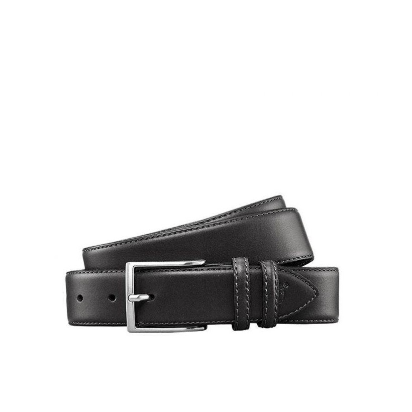 BLACK - MEN'S COW LEATHER BELT Accessories Shoes by Timberland