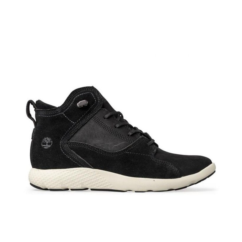 Black Nubuck - Men's Flyroam Hiker Boot Mens Sneakers Shoes by Timberland