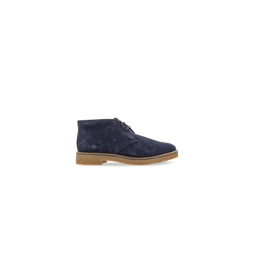 Dark Blue Suede - Men's Folk Gentleman Chukka Https://Www.Timberland.Com.Au/Shop/Sale/Mens/Boots Shoes by Timberland
