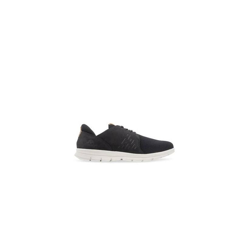 Black Nubuck - Men's Graydon Leather Oxford Footwear Shoes by Timberland