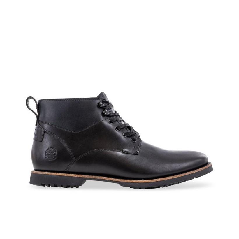 BLACK FULL GRAIN - MEN'S KENDRICK WATERPROOF CHUKKA BOOTS Footwear Shoes by Timberland