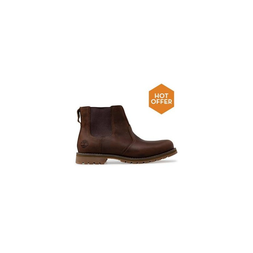 Gaucho Saddleback - Men's Larchmont Chelsea Boot Mens Shoes by Timberland