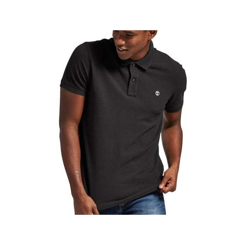 BLACK - MEN'S MILLERS RIVER PIQUE POLO SHIRT Clothing Shoes by Timberland