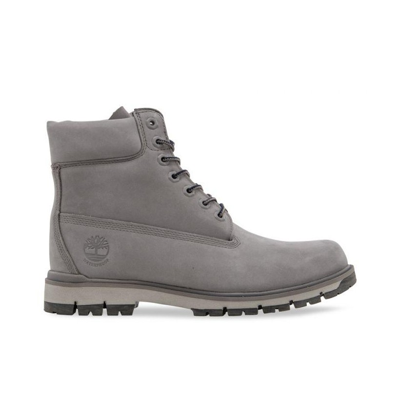 DARK GREY NUBUCK - MEN'S RADFORD 6-INCH LIGHTWEIGHT WATERPROOF BOOTS 6 Inch Boots Shoes by Timberland