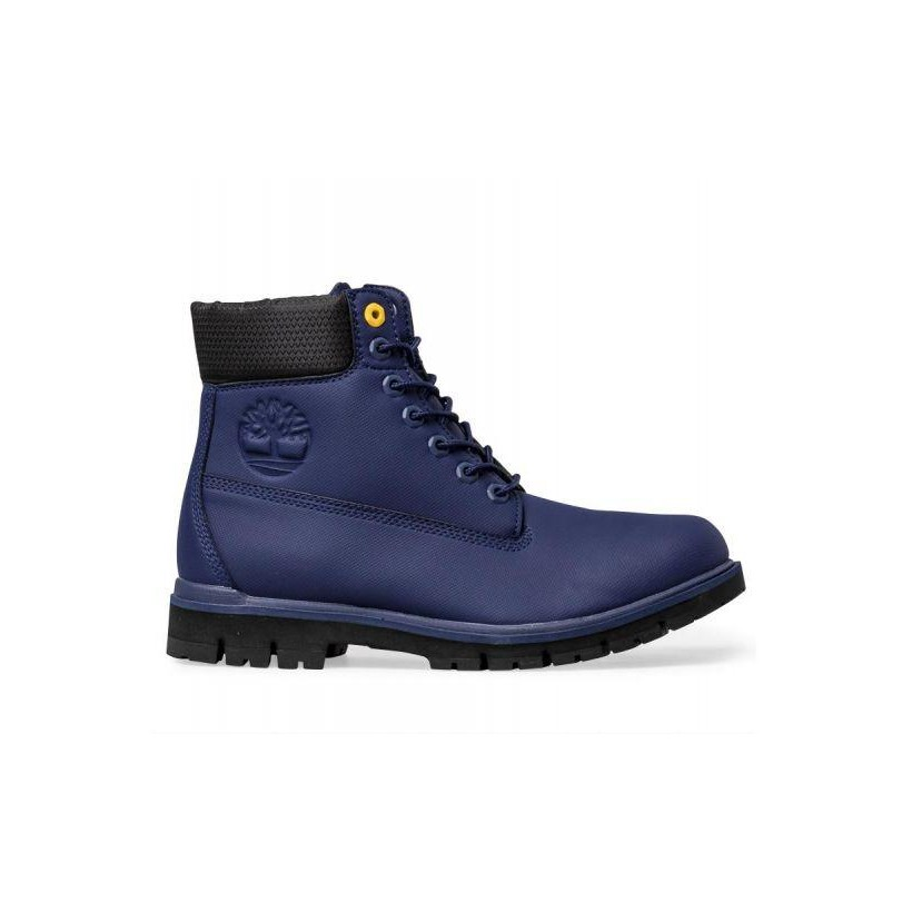 Dark Blue - Men's Radford Rubberized 6-Inch Boot Mens Boots Shoes by Timberland