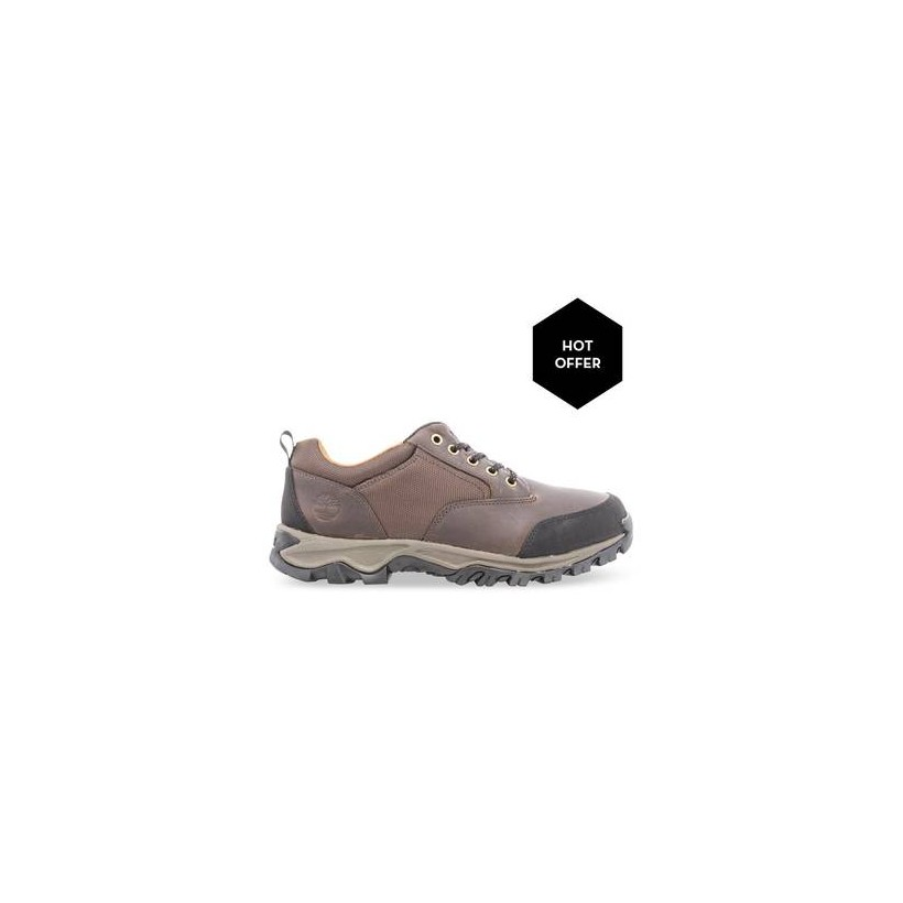 Dk Brown - Men's Rangeley Leather Fabric Low Hiking Boots Https://Www.Timberland.Com.Au/Shop/Sale/Mens/Boots Shoes by Timberland