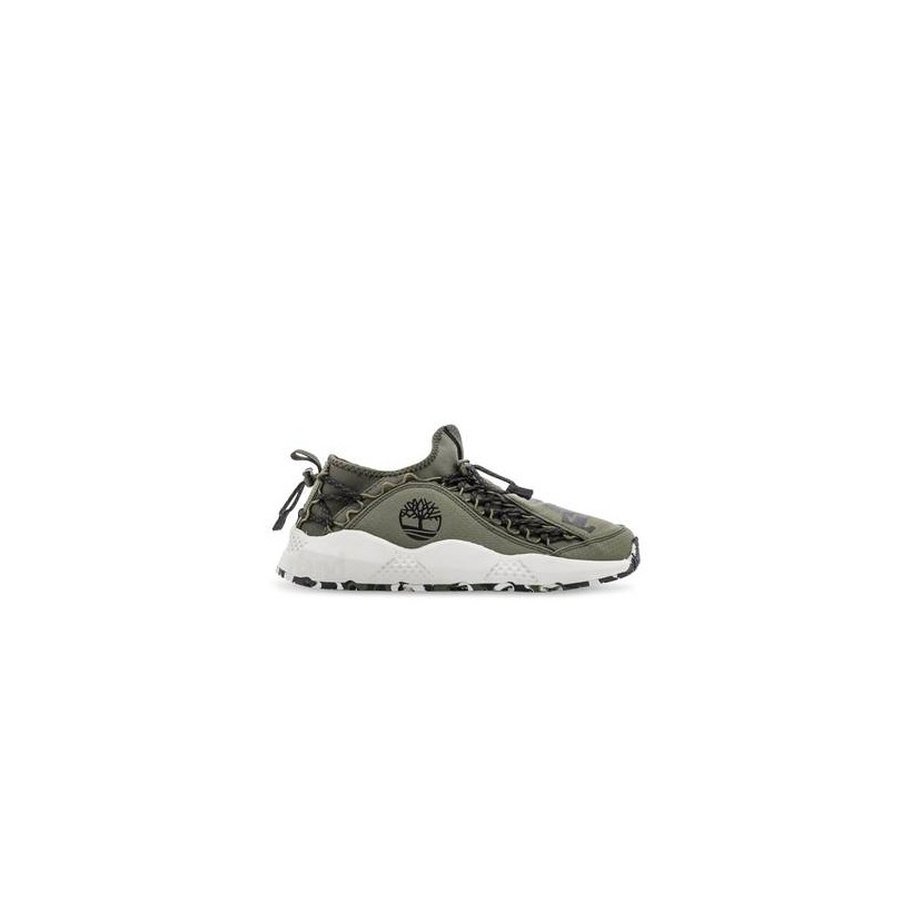 Dark Green Ripstop - Men's Ripstop Ripcord Sneaker Https://Www.Timberland.Com.Au/Shop/Sale/Mens/Sneakers Shoes by Timberland