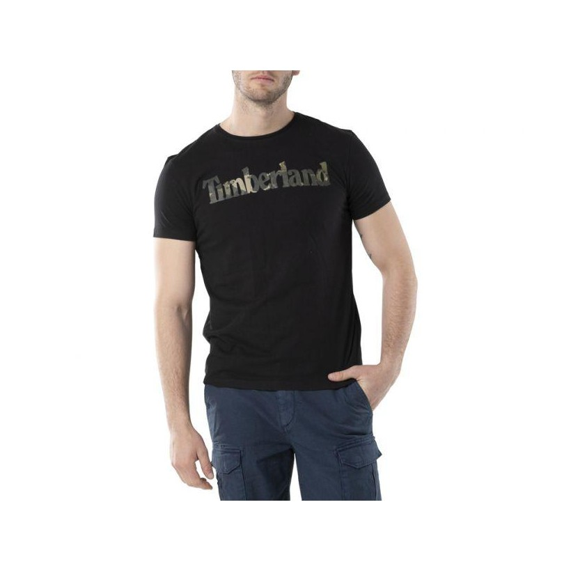 BLACK LINEAR - MEN'S SLIM FIT KENNEBEC RIVER T-SHIRT Clothing Shoes by Timberland